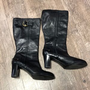 Nine West Black Boots.